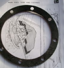 FV430 Series. Fuel filler well.Sealing ring.